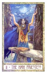 Druid Craft Tarot-The High Priestess
