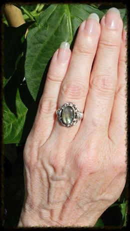 My Wedding Ring: Labradorite