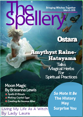 The Spellery:  New Pagan Magazine!