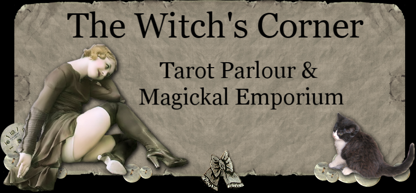 The Witch's Corner ~ FAQ ~ Topics: Poppets & Witch's Oil (video podcast)