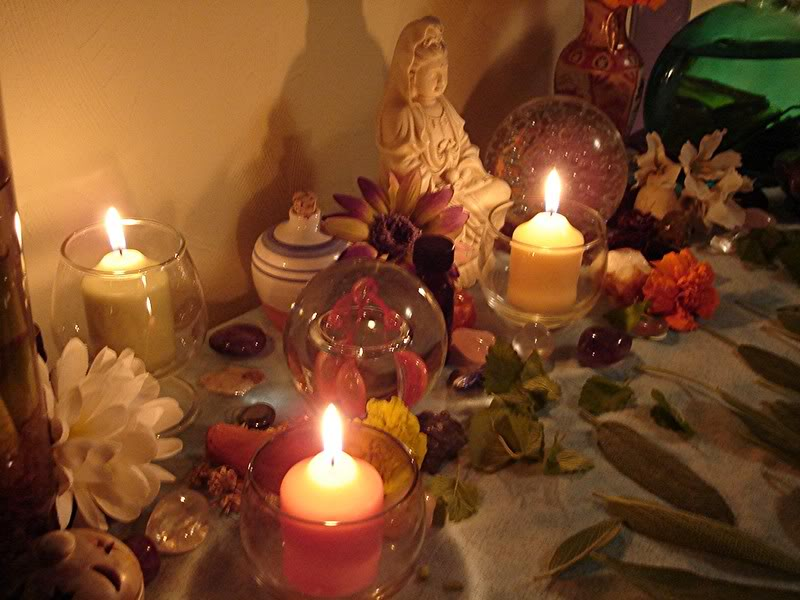 "Candle Altar Service ~ ""Setting the Lights"""