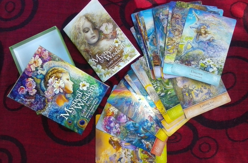 Video Review ~ Mystical Wisdom Card Deck ~ by Gaye Guthrie & Josephine Wall